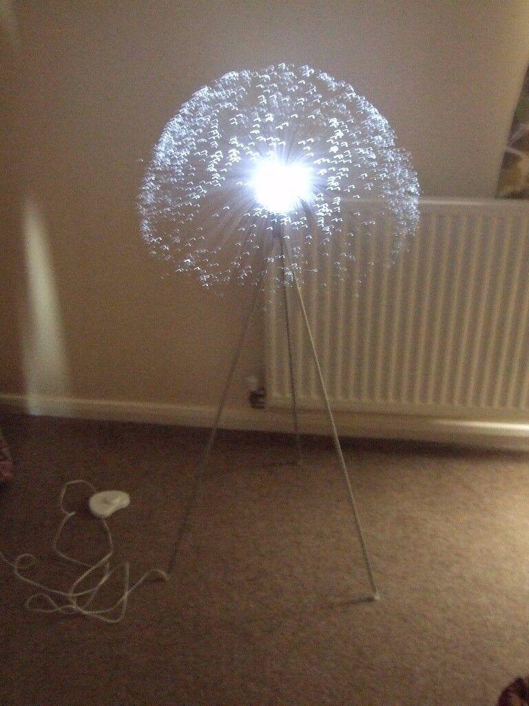 Ikea Floor Standing Fibre Optic Light In Newent