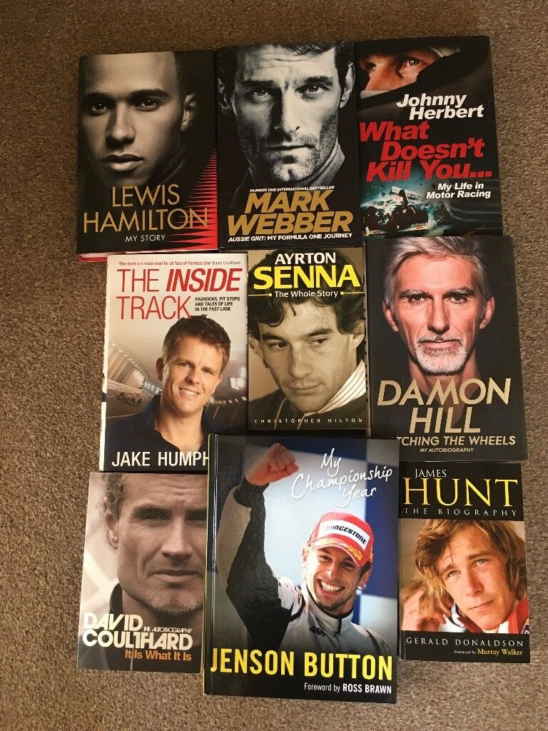 Motor Racing Autobiography Books!