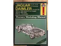 Daimler Jaguar Haynes XJ12 V12 £12