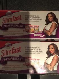2 SlimFast Starter Packs