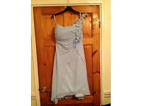Size 10 Powder blue bridesmaid dress/ prom dress