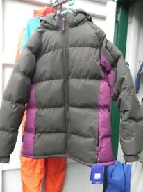 Alba Womens Winter Jacket, Berry, Size 18, New Unworn With Tags