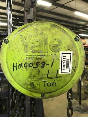 Yale 1 Ton Manual Coffing Hoist 12 Chain