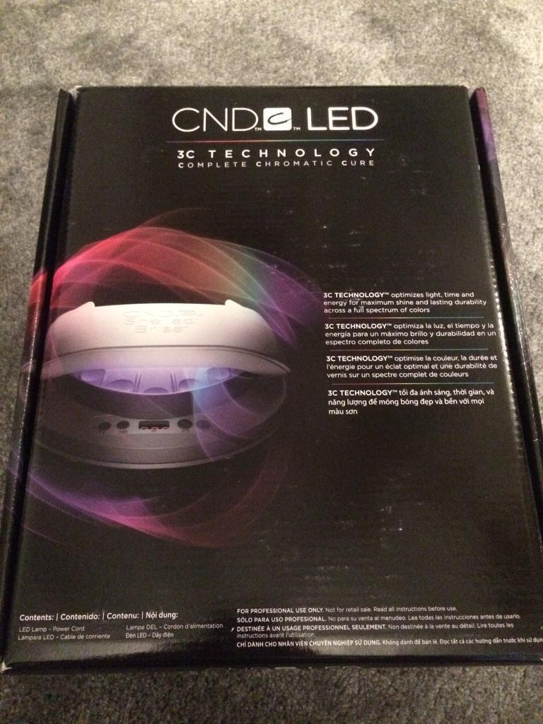CND led lamp brand new