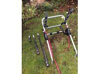 Halfords Metal Clamp High 3 Bike Carrier Rack.