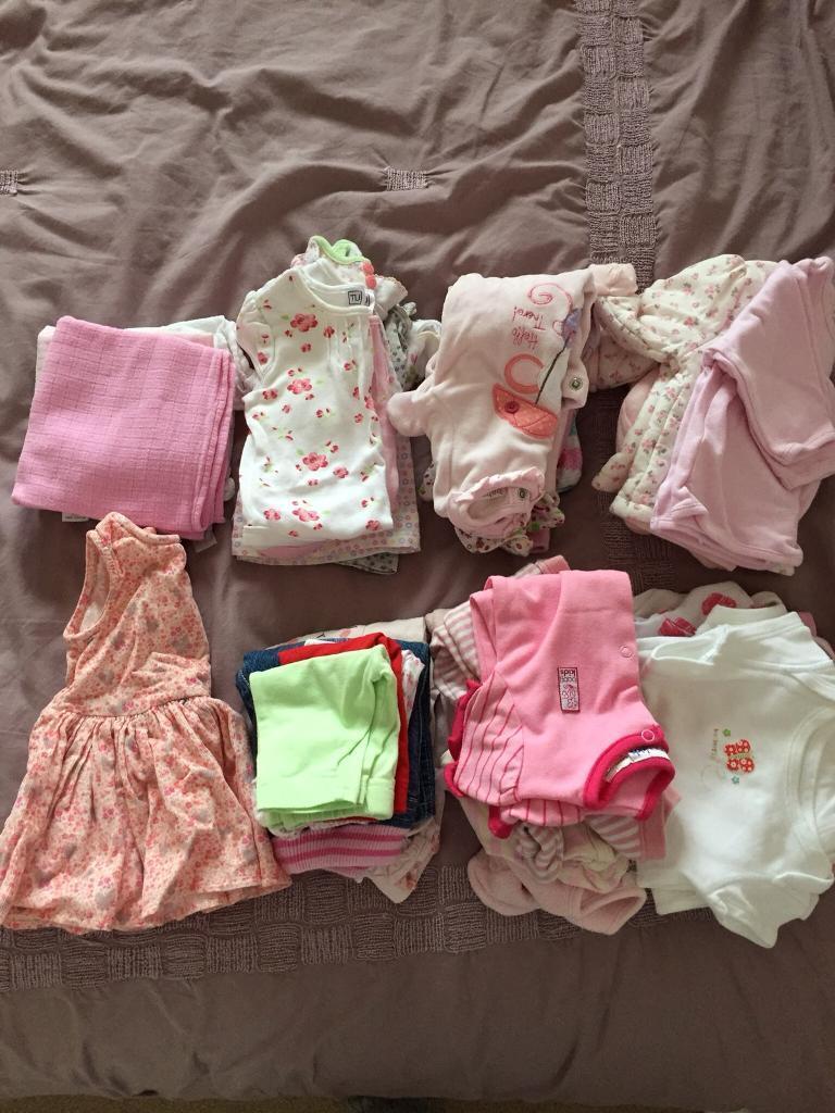Newborn Baby Girl Clothes Bundle 9 10 Lbs In Broxburn West