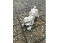 Playful Puppy Dog Garden Ornament