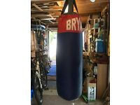 Punch bag with fittings