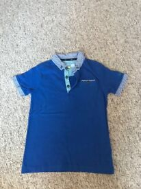 Boys Polo Shirts Ted Baker x6 items age 6-7 and 7-8