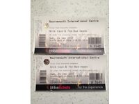 4 x Nick Cave standing tickets Bournemouth Int Centre (can sell individually)