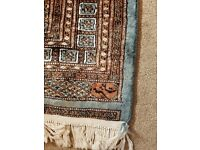 Rug from Pakistan for sale. 50 x 75 inches. Recently professionally cleaned ready for sale.