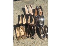 Bundle of shoes topshop Zara kg carvella size 6