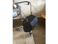 Rollator Walking Aid Trolley