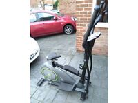 Elevation 2 in 1 Cross Trainer & Exercise Bike in VGC