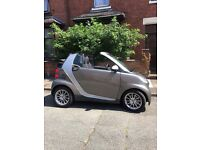 Smart Car, 4two cabriolet, semi auto with low miles, sat nav, hands free phone, electric windows.