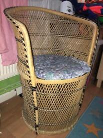 Wicker chair FREE!!!!!!