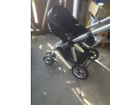 icandy pear double or single pushchair