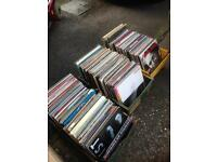 """Job lot of 500+ LPs plus 7"""" singles (and extras)"""