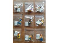 Full set of genuine lego 2012 team gb minifigures in great condition