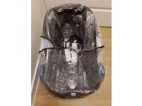 Car Seat Maxi Cosi CabrioFix 0+ (Black Raven) + Maxi Coxi Family Fix seat base Isofix (black)