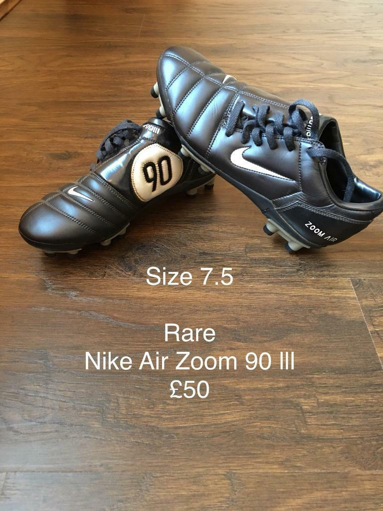 Total 90 Nike Zoom Air boots rare
