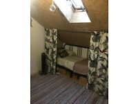 Double room available in creative warehouse