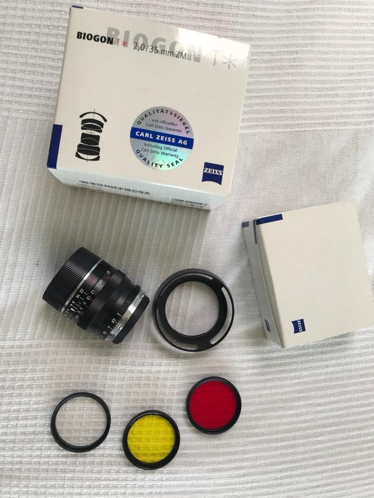 Zeiss Biogon 35 f2 ZM Leica M Mount | in Camden, London | Gumtree
