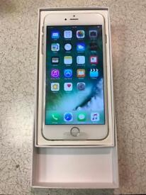 BRAND NEW APPLE IPHONE 6S PLUS 128GB SILVER UNLOCKED