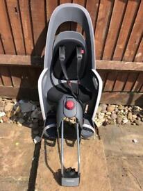 Hamax caress child bike seat with lockable bike connector