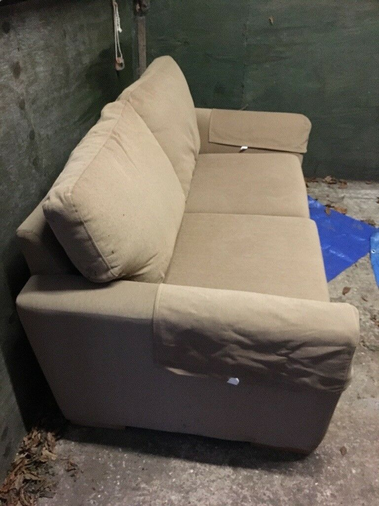 Som Toile Double Sofa Bed In Caerphilly Gumtree