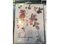 Lovely rose thank you cards