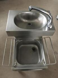 Franke stainless steel free standing sink