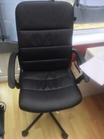 Leather chair £30