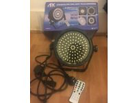 NEW AFX LED Strobe FX 98 DJ Disco Effect Light White Party Lighting + IRC Remote