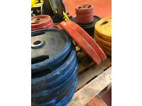 Olympic Weight plates 50kg - 2.5kg