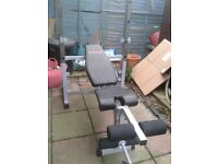 YORK 540 WEIGHT BENCH