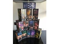 Complete Buffy the Vampire Tv series on VHS