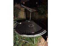 Trampoline about 6ft