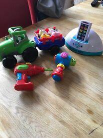 Various preschool toys