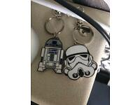 Star Wars key rings