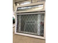 6 White UPVC Window