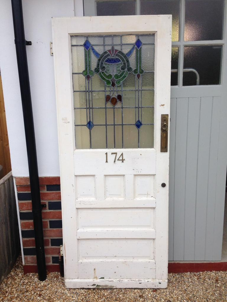 1930s Stained Glass Front Door In Bournemouth Dorset Gumtree