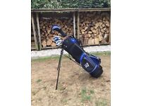 Golf clubs - Kids 'Masters' with additional irons, suit age 6-8
