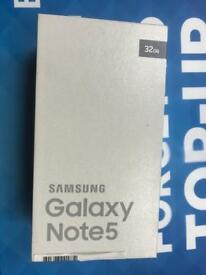 Samsung galaxy note 5 excellent condition still in box 32gb unlocked