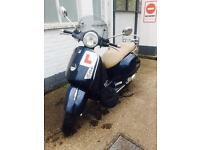 Vespa GTS 125 cc '08 -Midnight Blue-Long MOT