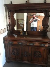 Antique dresser in very good contain , well looked after