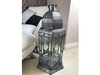 Moroccan themed lantern