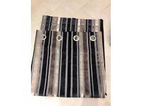 Next striped curtains