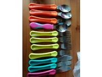 Toddler cutlery