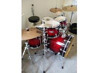 Mapex M-Series Drum Set + Cymbal Set + Hardware --- fantastic condition